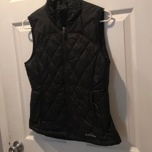 Never Worn! Eddie Bauer Black Vest